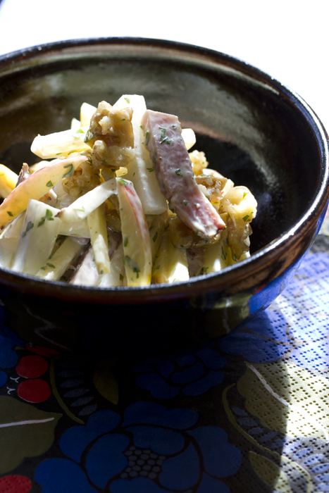 Daikon with Apple Salad