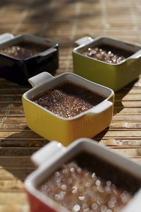 Chocolate Cream Brûlée - Yummy!