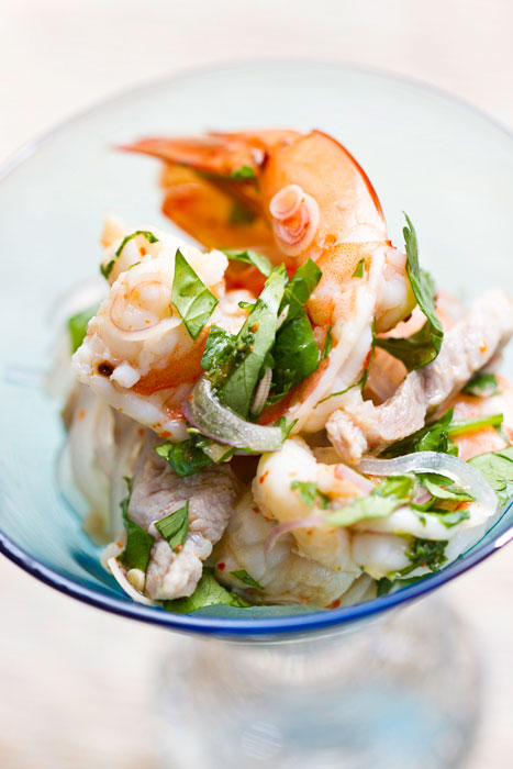 Shrimp and Grass Noodle Salad
