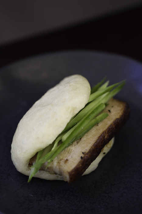 Pork Belly with Steamed Bun