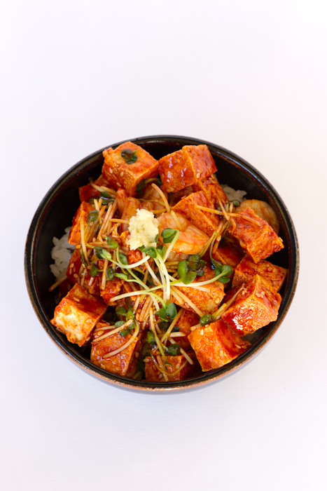 Spicy Fried Tofu