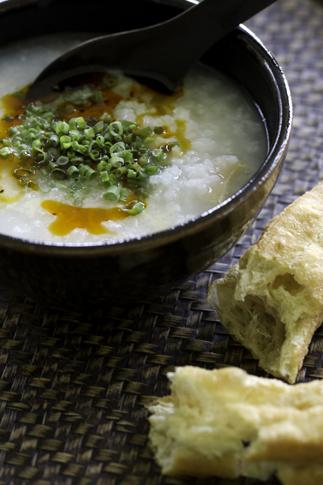 Congee with Chinese Fried Bread