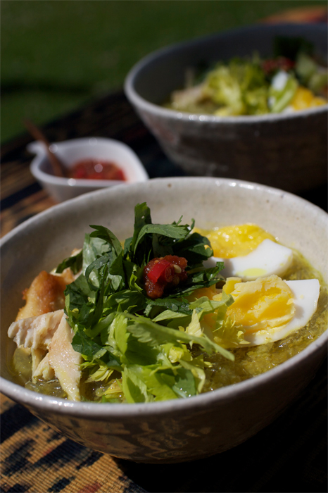 Soto Ayam - Chicken soup with glass noodles