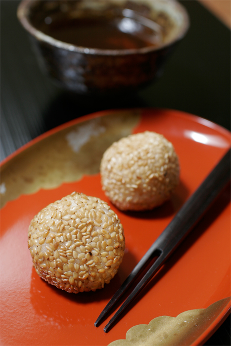 Goma Dango - A variation on the use of Koshi-Ann you made.