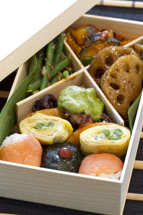 Sample of Bento box